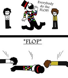 Do The FLOP! (Asdf CreepyPasta ft. Splendorman) by KiraCreator21.deviantart.com on @deviantART