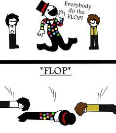Do The FLOP! (Asdf CreepyPasta ft. Splendorman) by KiraCreator21.deviantart.com on @deviantART