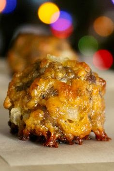 Sausage Balls are everywhere in the south and perfect for every gathering! Sausage and cheese make for a super delicious snack! Sausage Balls are everywhere in the south and perfect for every gathering! Sausage and cheese make for a super delicious snack!