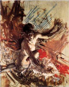 Giovanni Boldini, Madame de Joss, oil on canvas, 1905 c.