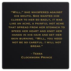 "Theresa ""Tessa"" Grey (Clockwork Prince by Cassandra Clare)"