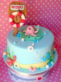 Under the Sea theme Cake