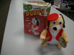 1950年代のぜんまい仕掛け子犬 1950's Clockwork Puppy