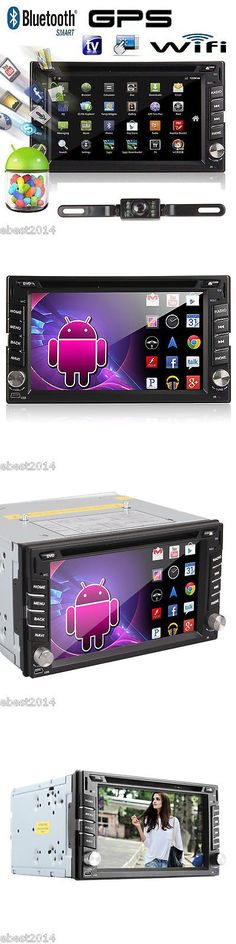 Video In-Dash Units w GPS: 2017 Android 6.2 2Din Hd Car Radio Stereo Dvd Player 3G Wifi Gps Navigation+Cam -> BUY IT NOW ONLY: $145 on eBay!