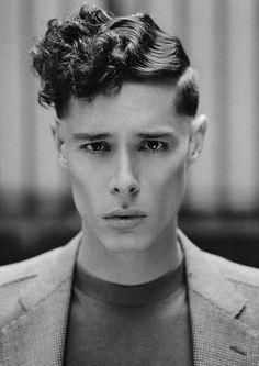 pompadour haircut curly hair - Recherche Google