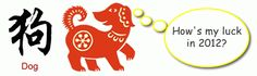 Feng Shui 2012 Predictions & Luck Analysis for Chinese Zodiac Dog