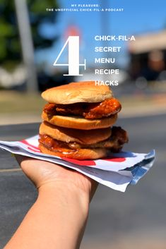 4 Chick-fil-A Secret Menu Recipe Hacks | Unofficial Chick-fil-A Podcast