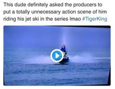 Funny Tiger King Memes - If you binged Tiger King and are looking up Joe Exotic, you know. Here are the funniest memes about this Netflix documentary. Tumblr Funny, Funny Memes, Hilarious, King Meme, Funny Tiger, Netflix Documentaries, Pregnancy Humor, Here Kitty Kitty, Jet Ski