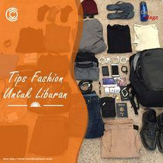 Tips Fashion untuk Liburan