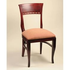 Alston Biedermeier Side Chair (Set of 2) Finish: Walnut, Upholstery: New Soho: Black Walnut