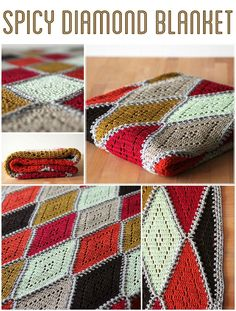 The spicy diamond blanket is a Harlequin/diamond blanket with a delicate twist! The blanket is made out of a linen blend and is aprox. 1.20m by 1.80m.