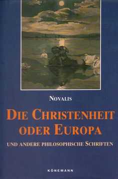 """""""Sonderbar, daß der eigentliche Grund der Grausamkeit Wollust ist. Es ist sonderbar, daß nicht längst die Assoziation von Wollust, Religion und Grausamkeit die Menschen aufmerksam auf ihre innige Verwandtschaft und ihre gemeinschaftliche Tenndenz gemacht hat."""" (318-319).....  Novalis: Die Christenheit oder Europa"""