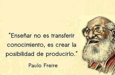 Las 36 Mejores Imágenes De Aaa Frases De Educacion Freire