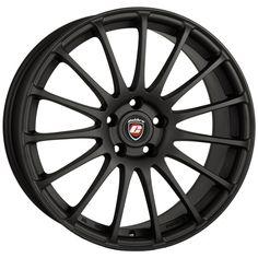18 CALIBRE RAPIDE MATTE BLACK alloy wheels for 5 studs wheel fitment in 8.5x18 rim size