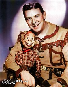 Howdy Doody .  Every Saturday....followed by Roy Rodgers, my first crush...4 yrs old, lol.