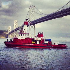 San Francisco Fire Department Fire Boat Station 35