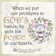 Thank you God  #LittleChurchMouse