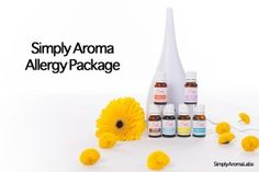 Simply Aroma's Allergy Package - description and video