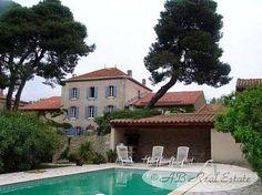 Exceptionnelle maison de maître à vendre secteur Minervois Corbières, Languedoc Roussillon, Sud de la France