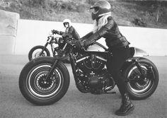 collectori:via Cafe racer Melipilla #caferacergirls #motorcyclesgirls #chicasmoteras | caferacerpasion.com