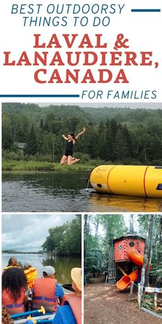 Top family activities for adventurers in Quebec province. Travel With Kids, Family Travel, Family Adventure, Adventure Travel, Urban Nature, Family Vacation Destinations, Family Road Trips, All Family, Canada Travel