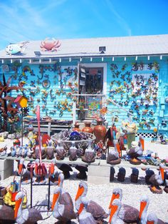 One of the many Florida Keys gift shops on US1. This one has a lot of everything! Nice lady too. :)