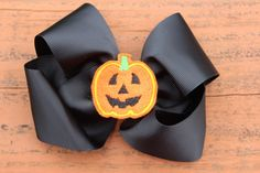 Peach Roots - Pumpkin Hair Bow, $7.00 (http://peachroots.com/pumpkin-hair-bow/)