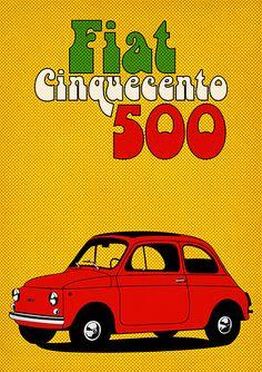 Fiat 500 Cinquecento  #TuscanyAgriturismoGiratola