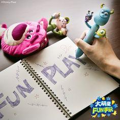 塗塗寫寫~有多久沒有塗鴉了呢? 快和毛怪、史乖寶一起輕鬆畫!!! #Pixar @familymart