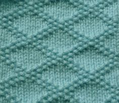 King Charles Brocade knit stitch.