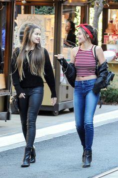 Paris Berelc and Amber Montana `tls