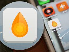 Honeyhive App Icon Design