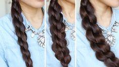 3D Split Twist Braid Hair Tutorial • Bebexo Hairstyles & Beauty Blog