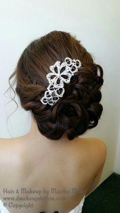 Bridal Makeup & Bridal Hair Styling.Wedding makeup and hair styling by Martha Mok. Www.dmakeupstation.com #Dmakeupstation #Asianmakeup #creativehair #beautifulhair #softhair #waveyhair #upstyle #koreanhair #koreanmakeup #hair #hairstyle #Wedding #Weddinghair #bridalhair #marthamok #Dmakeupstation #Wedding hair #Wedding Makeup #bridal hair #bridal makeup #hair styling #Asian makeup artist #natural makeup #Wedding #hair Flower #hair accessories #Japanese hair #Japanese makeup