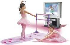 Electronic Dance Mats - Bella Dancerella Home Ballet Studio with DVD >>> Click on the image for additional details.
