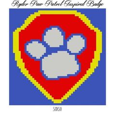 ryder paw patrol quilt block or pillow    Craftsy