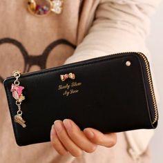 Arco dulce y colgante del diseño mujeres del embrague Monedero para Vender - La Tienda En Online IGOGO.ES