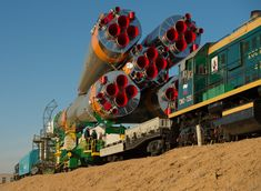 Sojus TMA-08M, Baikonur, Russland 2003