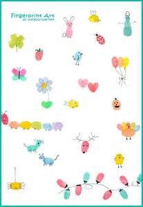 Fingerprint Calendar Art {101 Days of Christmas at lifeyourway.net}