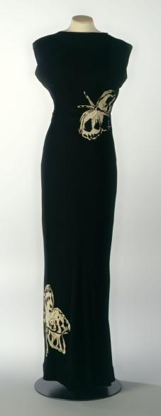 Evening dress, Elsa Schiaparelli designer, French, 1937