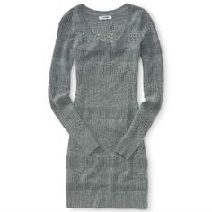Aeropostale Knit Sweater Dress