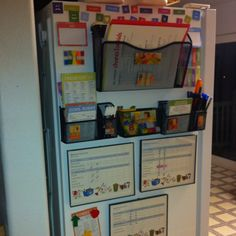 This is a must in my house. Family organizer and kid's chore charts.