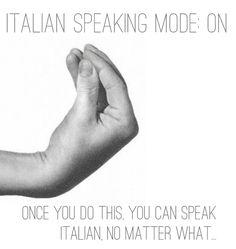 Italiano!!!