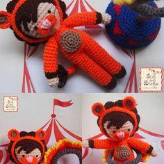 Sol de Noche {deco crochet}: Amigurumi Design Contest