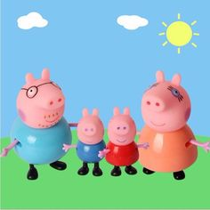 Cute Pig Family Figures, 4 pcs //Price: $11.97 & FREE Shipping // #‎kid‬ ‪#‎kids‬ ‪#‎baby‬ ‪#‎babies‬ ‪#‎fun‬ ‪#‎cutebaby #babycare #momideas #babyrecipes  #toddler #kidscare #childcarelife #happychild #happybaby