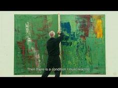 """Gerhard Richter Pintor aleman de 82 años. 1932. """"Painting Remolque"""""""