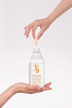 Supublic has developed a series of tablets made with a concentration of non-toxic cleaning agents that users can dissolve in water to create 430 millilitres of solution. Clean Bottle, Cleaning Agent, Plastic Waste, Dezeen, Sustainable Design, Plastic Bottles, Packaging Design, Cleaning Supplies, Modern