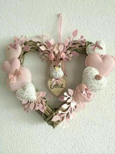 Love heart wreath