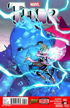 Thor #2 cover by Russell Dauterman