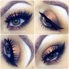 Bronzey eye